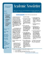 Residence Life Academic Newsletter Volume 1, Issue 4