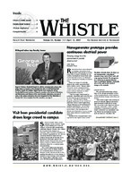 The Whistle Volume 32, Issue 15