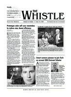 The Whistle Volume 32, Issue 17