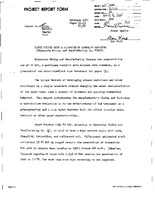 #1684. Evaluation of synthetic water-based resin dispersions. Project reports. 1956