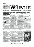 The Whistle Volume 32, Issue 32