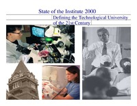 Defining the Technological University of the 21st Century Students Presentation