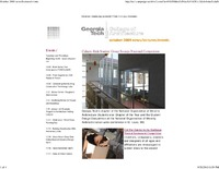 College of Architecture Newsletter October 2009