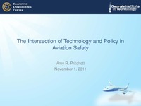 Intersection of Technology and Policy in Avation Safety