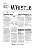 The Whistle Volume 29, Issue 3
