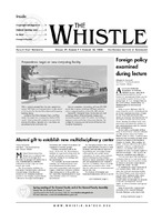 The Whistle Volume 29, Issue 7