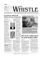 The Whistle Volume 29, Issue 8