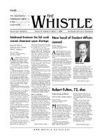 The Whistle Volume 29, Issue 9