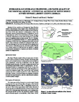 Hydrogeology, Hydraulic Properties, and Water Quality of the Surficial Aquifer: a Potential Alternative Water Source at Fort Stewart, Liberty County, Georgia