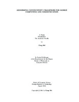 Dissertation computing JFC CZ as Addressing connectivity challenges for mobile computing and SMARTech Home Georgia Tech Addressing connectivity challenges for mobile