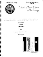Black liquor combustion-validated recovery boiler modeling capability. Project 3605-2, report 1, parts 1 and 2 : a progress report to the U. S. Department of Energy, part 1 by H. Jeff Empie ... et al., part 2 by M. Salcudean ... e