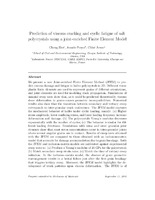 Prediction of viscous cracking and cyclic fatigue of salt polycrystals using a joint-enriched Finite Element Model